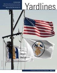 April Yardlines_03_12.indd - Newport News Shipbuilding