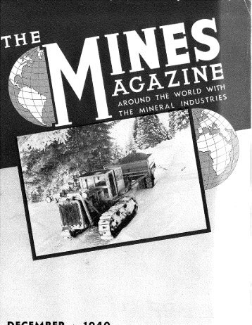 MonC - Mines Magazine - Colorado School of Mines