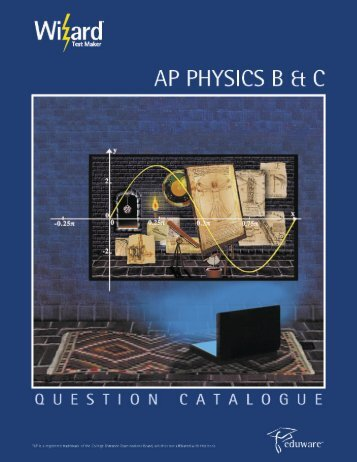 AP Physics B/C - Eduware