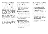 Faltblatt Initiative Bildungsstandort Engen - Gymnasium Engen