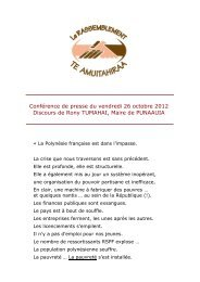 Conférence de presse - 26 octobre 2012 - Storage