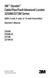 3M™ Dynatel™ Cable/Pipe/Fault Advanced Locator 2250M/2273M ...