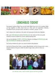 Speisekarte als PDF herunterladen - Landhaus Ridder