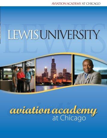 aviation academy - Lewis University