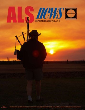 September - The Alberta Land Surveyors