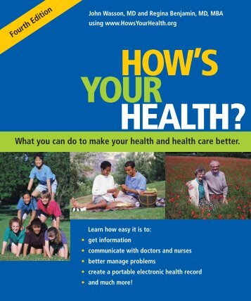 Download How's Your Health as a Free PDF - HowsYourHealth