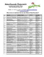 Naturfreunde Österreich - Naturfreunde Wien