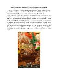 Goodies at Cinnamon Lakeside Makes Christmas Worth the Wait