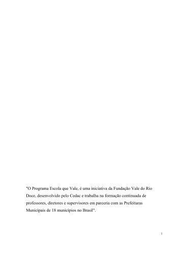 PEQUENA ENCICLOPÉDIA - Instituto Paulo Montenegro