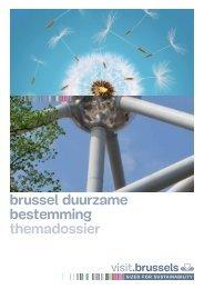 brussel duurzame bestemming themadossier - VisitBrussels