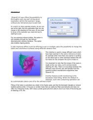 ZScan® 5.0 ZScan® 5.0 now offers the possibility to thoroughly scan ...