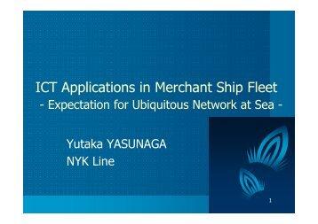 ICT Applications in Merchant Ship Fleet - Global Business Dialogue ...