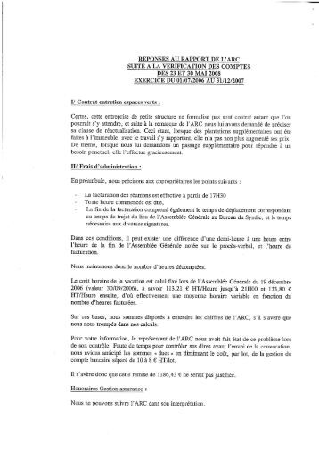 Contrat de syndic r sidence aquarius for Contrat type entretien espaces verts