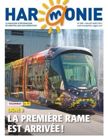 LIGNE 3 LA prEmIÈrE rAmE Est ArrIVÉE - Montpellier Agglomération