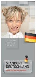 Standort Deutschland - Verantwortung für die Zukunft - Sigel