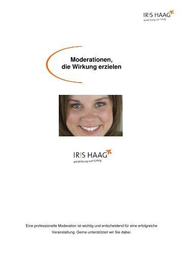 Moderationen, die Wirkung erzielen - IRIS HAAG® Training ...