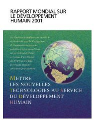 Rapport complet - Human Development Reports