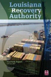February 2007 Quarterly Report - Louisiana Recovery Authority