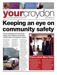 Prince views Mary Rose - Croydon Council