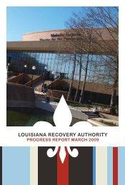 March 2009 - Louisiana Recovery Authority