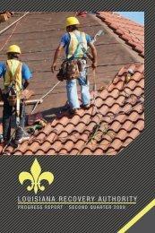 June 2009 Quarterly Report - Louisiana Recovery Authority