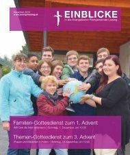 Familien-Gottesdienst zum 1. Advent Themen-Gottesdienst zum 3 ...