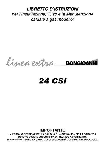 Caldaia Bongioanni Linea Extra 24 CSI - Certened
