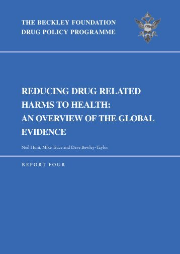 Beckley Report -Red Drug Harms - Global Evidence