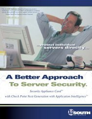 A Better Approach To Server Security.