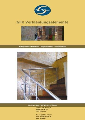 GFK Verkleidungselemente - Decoraflex Objektgestaltungen