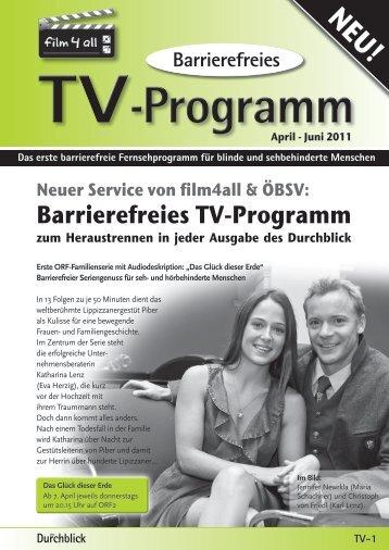 Barrierefreies TV-Programm