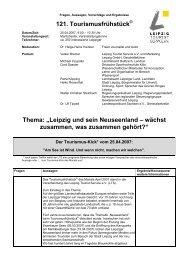 Microsoft Word - 121_Tourismusfrühstück.doc - Stadt Leipzig