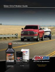 G52 - Motor Oil and Filtration Guide - Bestsynoil.com