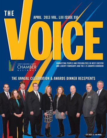 April 2013 - West Chester Liberty Chamber Alliance
