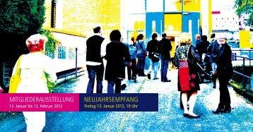 mitgliederausstellung neujahrsempfang - Künstlerkreis-Ortenau
