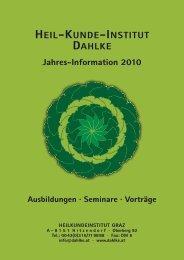 heilkundeinstitut graz - Dr. Ruediger Dahlke