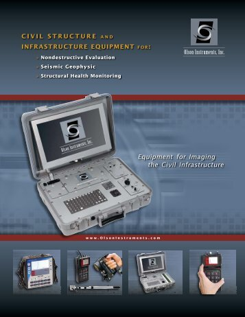 OI Catalog - Olson Instruments, Inc.