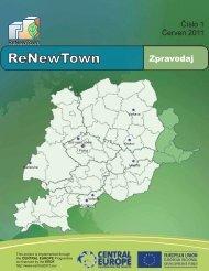ReNewTown Newsletter No 1 CZ (z PDF) ERDF