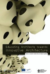 Educating Architects towards Innovative Architecture - ENHSA