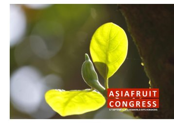 Download this speaker's presentation - Asiafruit Congress