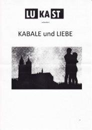 KABALE und LIEBE - Youth Bank