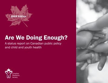 Are We Doing Enough? - Canadian Coalition for the Rights of Children