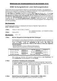 Mitteilung der Verwaltungsleitung dt - DSB | Kairo