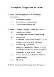 Konzeption (pdf) - FIT GmBH