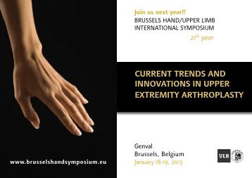 current trends and innovations in upper extremity arthroplasty