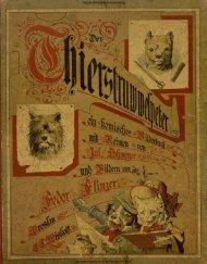 Der Thierstruwwelpeter - Digitale Bibliothek Braunschweig