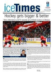 champions hockey league 2008-2009 - IIHF