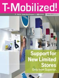 Support for New Limited Stores - Superior Communications