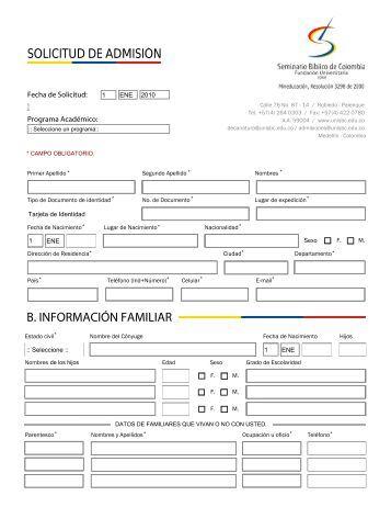 Formulario de Inscripciones FUSBC