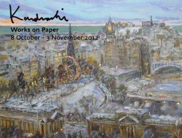 Works on Paper 8 October - 3 November 2012 - The Scottish Gallery